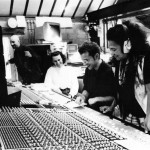 Toto La Momposina in the studio